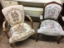 2 needle point chairs in Camp Lejeune, North Carolina