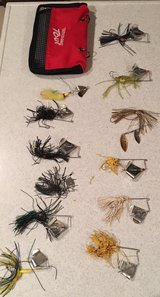 One Dozen Buzz and Spinner Baits w/Case in Okinawa, Japan