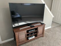 Samsung TV and stand in Clarksville, Tennessee