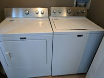 Maytag washer/dryer set in Fort Campbell, Kentucky
