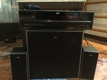 JVC television, receiver, DVD player and 6 speakers in Ramstein, Germany
