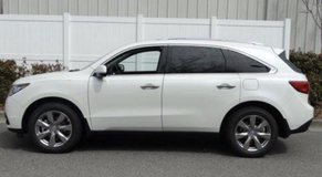 2015 Pearl White Acura MDX with tan (parchment) leather in Tampa, Florida