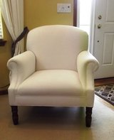 Chair White Over Stuffed Like New Moved Must Sacrifice in Naperville, Illinois