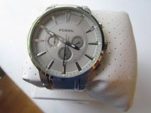 Men's Silver Fossil Watch in New Lenox, Illinois
