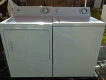 GE washer and electric dryer set in Alamogordo, New Mexico