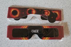Solar Eclipse Glasses - 2 available in Naperville, Illinois