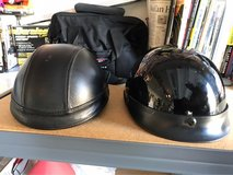 Half motorcycle helmets size M-S in Travis AFB, California