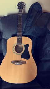 Ibanez acoustic gutair w/ case and extras!! in Clarksville, Tennessee