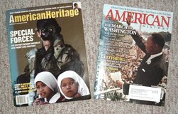 RARE Vintage American History & American Heritage Magazines in Plainfield, Illinois