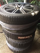 Great condition AUDI Q7 all Season Tires mounted - 275/45-R20 in Stuttgart, GE