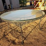 Vintage coffee table in Yucca Valley, California