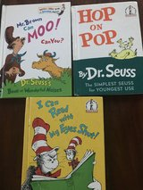 Dr Seuss books (3) in Naperville, Illinois