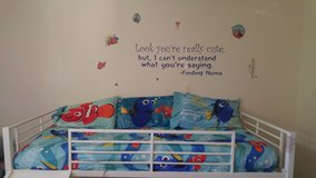 Finding nemo/dory twin bedroom bedding set in Camp Pendleton, California