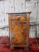 One Tall Antique Nightstand 70 cm tall in Ramstein, Germany