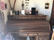 Antique Wood Desk in Yucca Valley, California