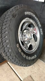 Tires and rims, complete in Naperville, Illinois