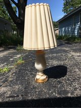 Marble table lamp in Naperville, Illinois