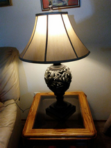 Lamp with table in Olympia, Washington