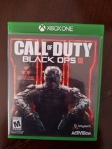 XBOX ONE CALL OF DUTY BLACK OPS in Naperville, Illinois