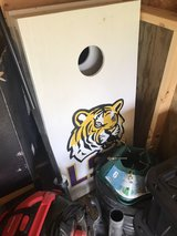 LSU Corn Hole Boards in Fort Campbell, Kentucky