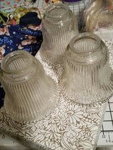 3 glass fan lampshades in Fort Bragg, North Carolina