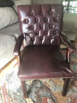 leather chair needs repair very sturdy in Clarksville, Tennessee
