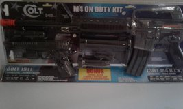 Colt M4  on duty kit in Fort Campbell, Kentucky