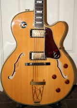 Epiphone Joe Pass Emperor II Hollow Body Archtop and Case in Kingwood, Texas