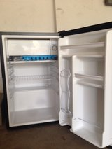Emerson 4.4 cu ft mini refrigerator with freezer compartment in Naperville, Illinois