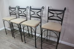 Set of 4 Bar Stools in CyFair, Texas