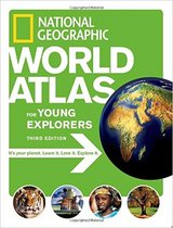 National Geographic World Atlas for Young Explorers XL Hard Cover Book Age 8 - 12 in Oswego, Illinois