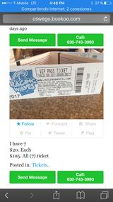 Raging waves VIP TICKETS in Chicago, Illinois