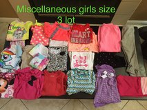 Girls 3 and 4 lot clothes in Camp Pendleton, California