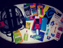 Clear backpack & school supplies in Spring, Texas