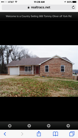Single Family Home in Woodlawn area in Clarksville, Tennessee