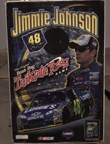 NASCAR Jimmie Johnson #48 Cornhole Game Set Onyx Stained Stripe Version in Naperville, Illinois