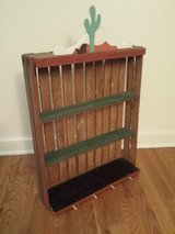 Wood Crate Shelf Arts Crafts Project in Naperville, Illinois