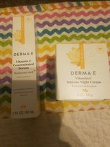 Derma E vitamin C concentrated serum & Intense night cream in Hinesville, Georgia