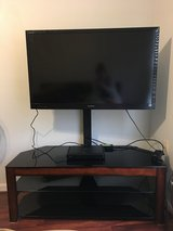 TV Console for Most Flat Panel TV's - Dark Brown Cherry in Quantico, Virginia
