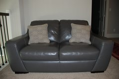 TWO SEATER LEATHER SOFA in CyFair, Texas