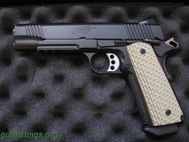 Kimber Warrior grips in Camp Pendleton, California