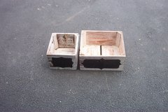 TWO WOOD CRATES in Wheaton, Illinois