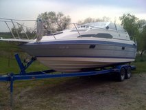 boat and trailer in Fort Riley, Kansas
