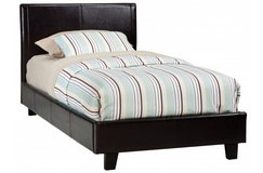 New York Black Twin Upholstered Bed in West Orange, New Jersey