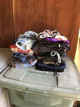 Lots of clothes in Travis AFB, California