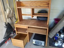 2 pc wood desk in Temecula, California
