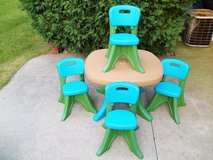 Step 2 Children's Table & Chair Set With 4 Chairs! - L@@K! in Brookfield, Wisconsin