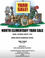 Community Yard Sale in Alamogordo, New Mexico