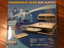 Coby Progressive Scan DVD player in Travis AFB, California