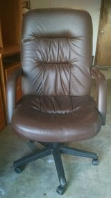 High Back Leather Chair in Lawton, Oklahoma